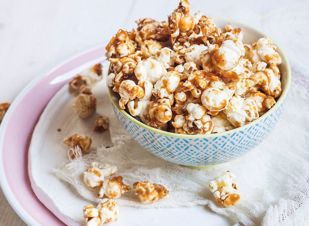How to make Salted Caramel Popcorn